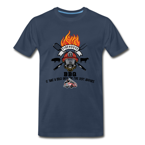 Firehouse BBQ - Men's Premium T-Shirt