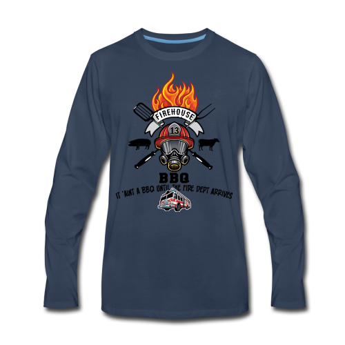 Firehouse BBQ - Men's Premium Long Sleeve T-Shirt