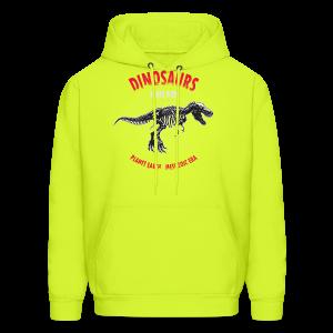Dinosaurs Ruled - Men's Hoodie