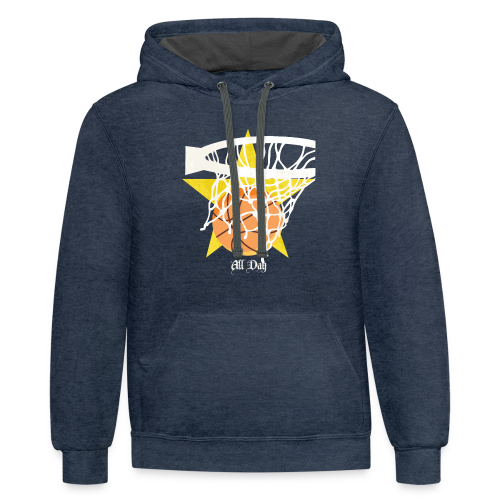 All Day - Contrast Hoodie