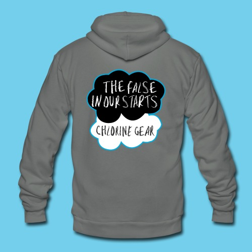The False in Our Starts Men's LS - Unisex Fleece Zip Hoodie