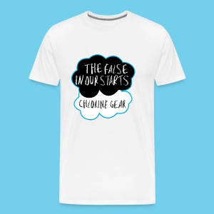 The False in Our Starts Men's LS - Men's Premium T-Shirt
