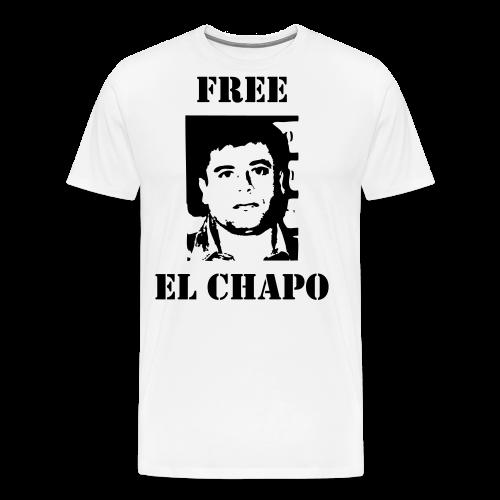 El chapo - Men's Premium T-Shirt