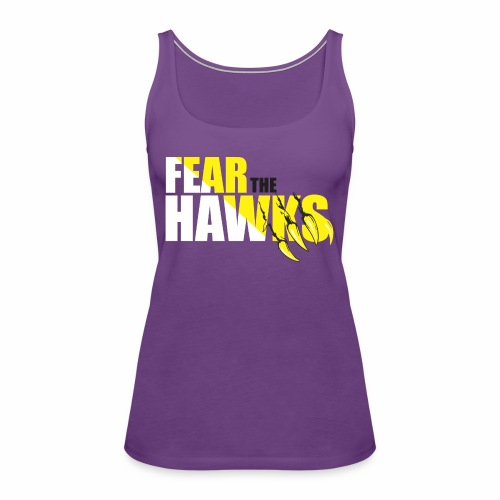 Ladies Hawks Tshirt - Women's Premium Tank Top