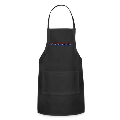 NotYourAverageBiker Hoodie 'SmallBlack' FRONT Logo - Adjustable Apron