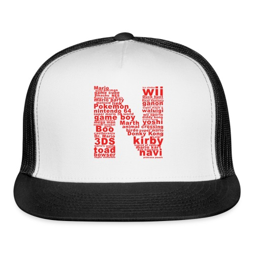 mens NES throwback - Trucker Cap