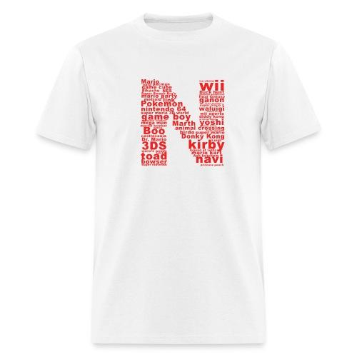 mens NES throwback - Men's T-Shirt