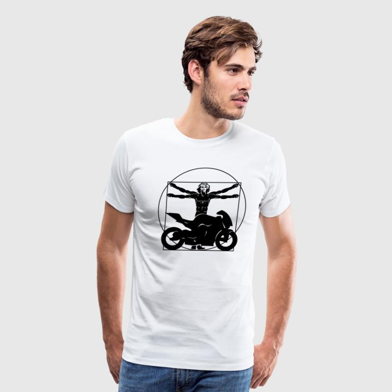 Da Vinci Bike Shirt - Men's Premium T-Shirt
