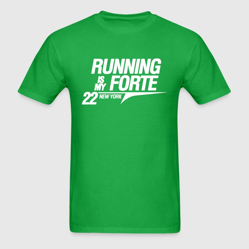Running Is My Forte T-Shirts - Men's T-Shirt