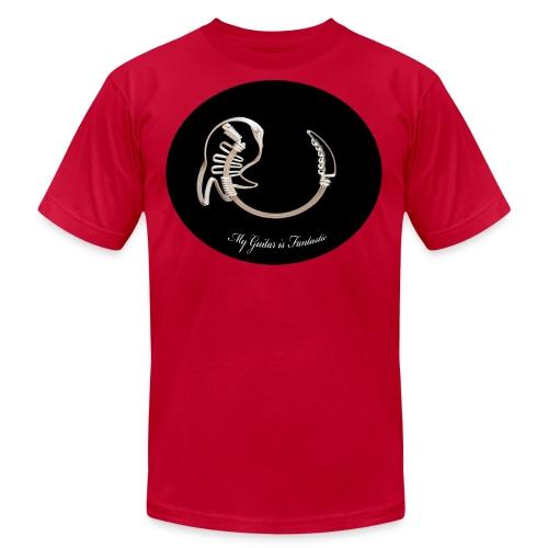 crazy guitar - Men's  Jersey T-Shirt