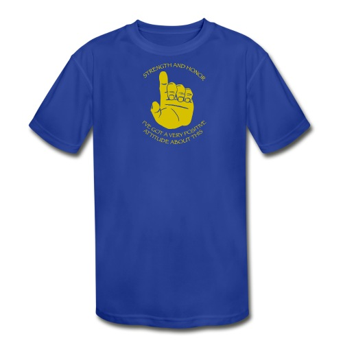 Kid's Moisture Wicking Performance T-Shirt