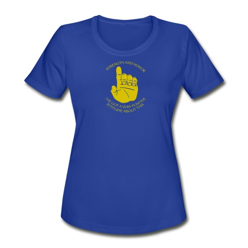 Women's Moisture Wicking Performance T-Shirt