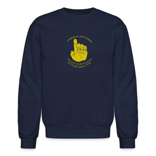Positive Attitude - Crewneck Sweatshirt