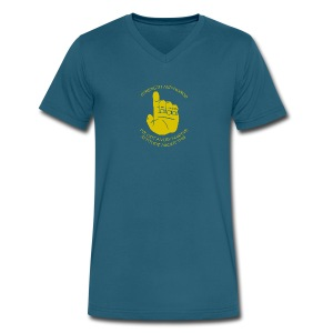 Men's V-Neck T-Shirt by Canvas
