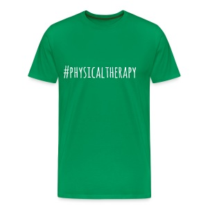 #physicaltherapy Men's T-Shirt - Men's Premium T-Shirt