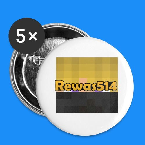 Rewas514 Cup (w/ Face & Name) - Buttons small 1'' (5-pack)