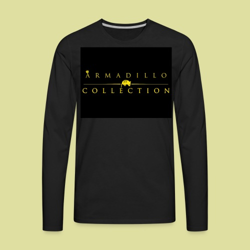 Armadillo GOLD Collection Tees - Men's Premium Long Sleeve T-Shirt