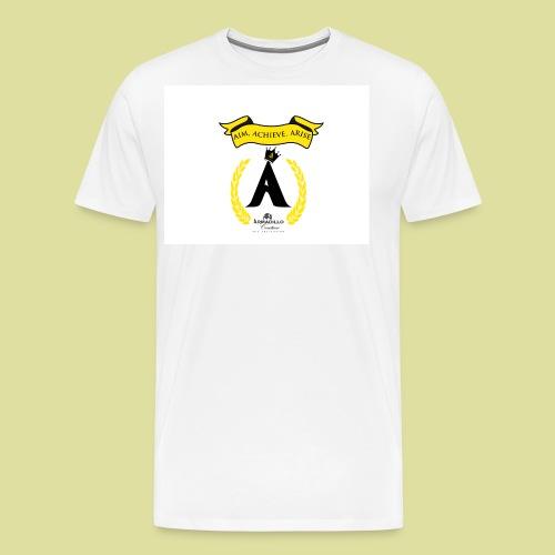 THE ALMA MATER 3 A's - Men's Premium T-Shirt