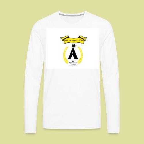 THE ALMA MATER 3 A's - Men's Premium Long Sleeve T-Shirt