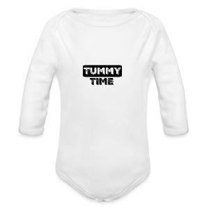 Tummy Time Short Sleeve   - Long Sleeve Baby Bodysuit
