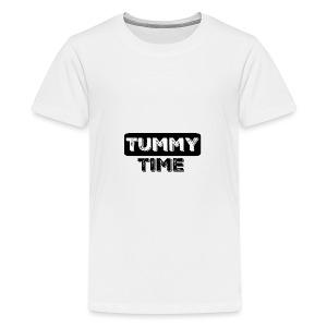 Tummy Time Short Sleeve   - Kids' Premium T-Shirt