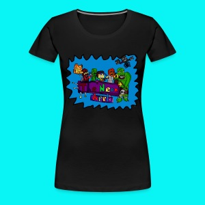 Original Neon Apple T-Shirt WOMEN  - Women's Premium T-Shirt