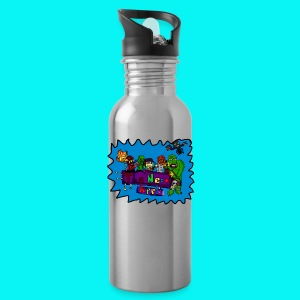 Neon Apple Hoodie MEN - Water Bottle