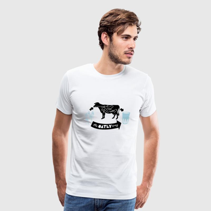Oatly Vegan T-Shirts - Men's Premium T-Shirt