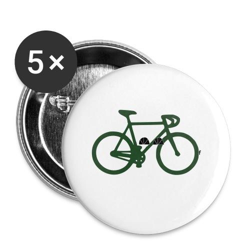 womens-D'sfreebikes Shirt - Buttons small 1'' (5-pack)