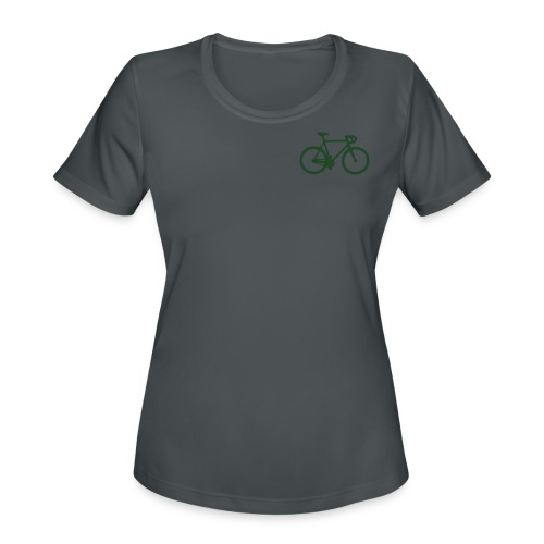 womens-D'sfreebikes Shirt - Women's Moisture Wicking Performance T-Shirt