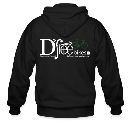 womens-D'sfreebikes Shirt - Men's Zip Hoodie
