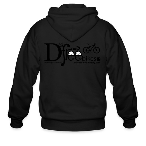 womens-D'sfreebikes Shirt - Men's Zip Hoodie