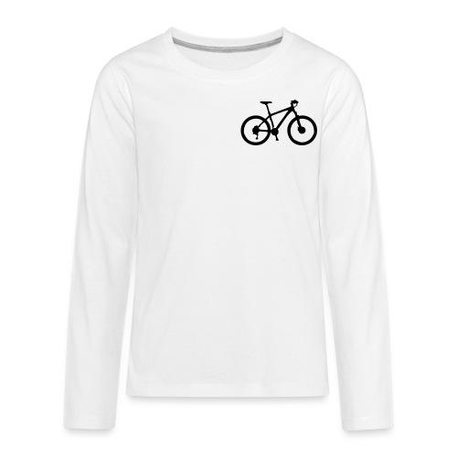 womens-D'sfreebikes Shirt - Kids' Premium Long Sleeve T-Shirt