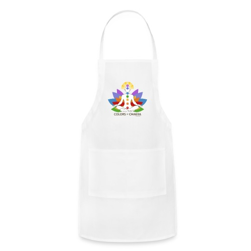 The Colors of Chakra - Adjustable Apron