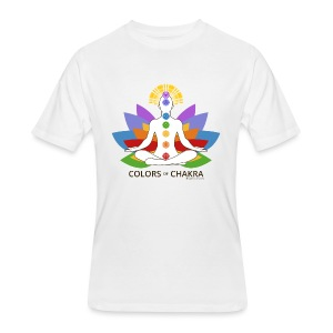 The Colors of Chakra - Men's 50/50 T-Shirt