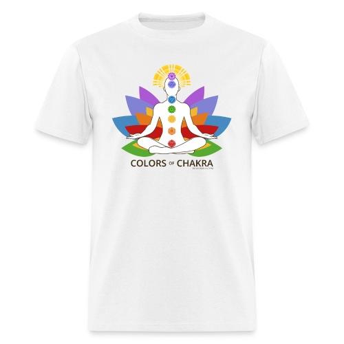 The Colors of Chakra - Men's T-Shirt