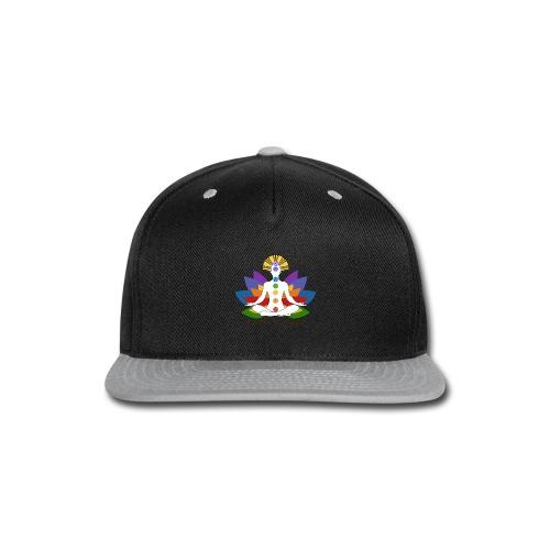 The Colors of Chakra - Snap-back Baseball Cap