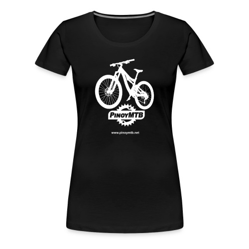 Pinoy MTB - Filipino Women's Mountain Bike T-Shirt - Women's Premium T-Shirt