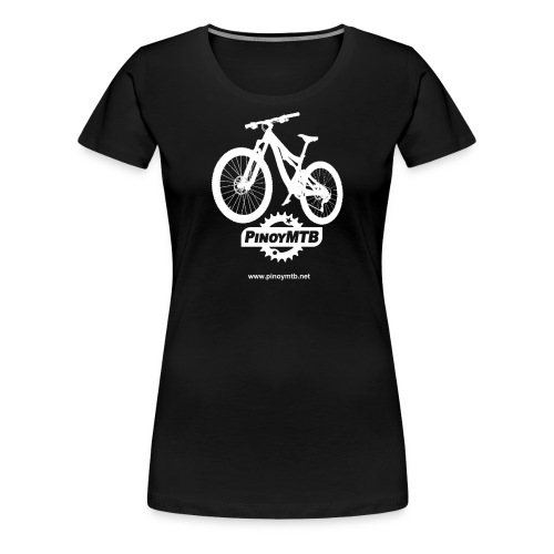 Pinoy MTB - Filipino Women's Mountain Bike T-Shirt - Women's Premium T-Shirt