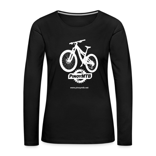 Pinoy MTB - Filipino Women's Mountain Bike T-Shirt - Women's Premium Long Sleeve T-Shirt