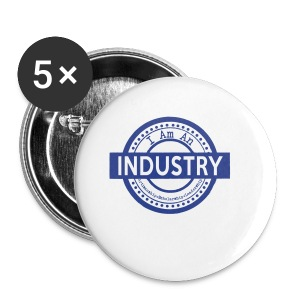 I Am an Industry - Small Buttons