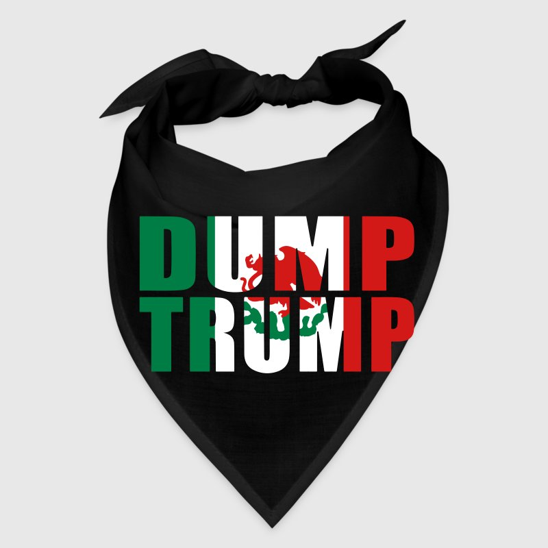 Dump Trump Mexican Flag - Bandana