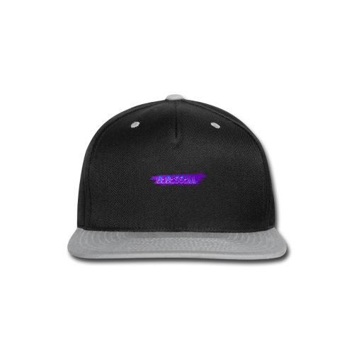 Men's BeBessell Paint Splatter T-shirt - Snap-back Baseball Cap