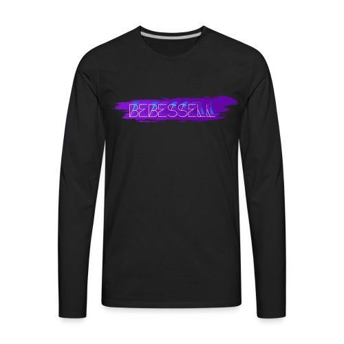 Men's BeBessell Paint Splatter T-shirt - Men's Premium Long Sleeve T-Shirt