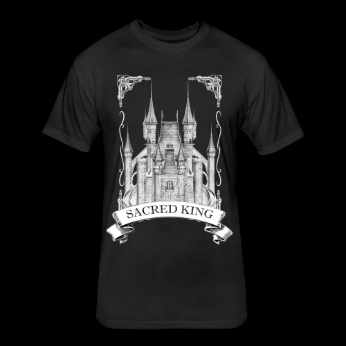 Sacred King Tee - Fitted Cotton/Poly T-Shirt by Next Level