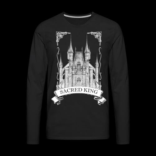 Sacred King Tee - Men's Premium Long Sleeve T-Shirt