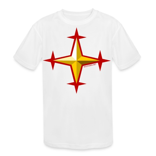 Wulfgard Knights Templar Men's T-Shirt - Kid's Moisture Wicking Performance T-Shirt