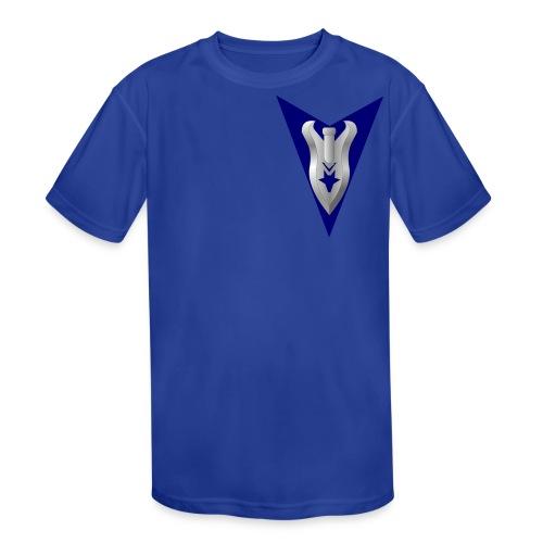 Wulfgard Venatori Badge Men's T-Shirt - Kid's Moisture Wicking Performance T-Shirt