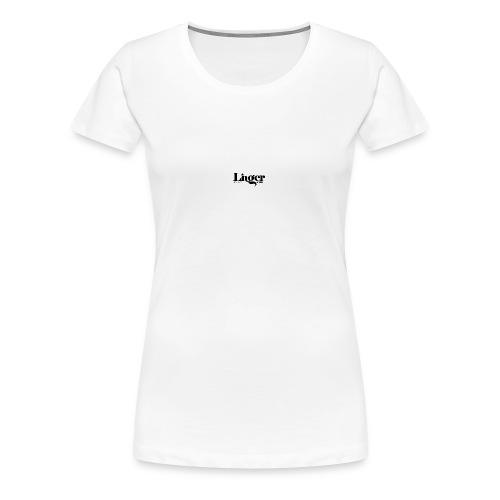 Linger Magazine water bottle - Women's Premium T-Shirt