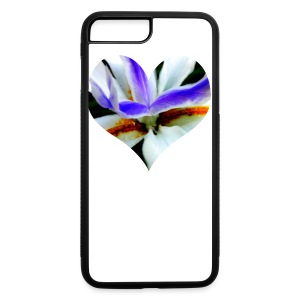 I [heart] Flowers - iPhone 7 Plus/8 Plus Rubber Case